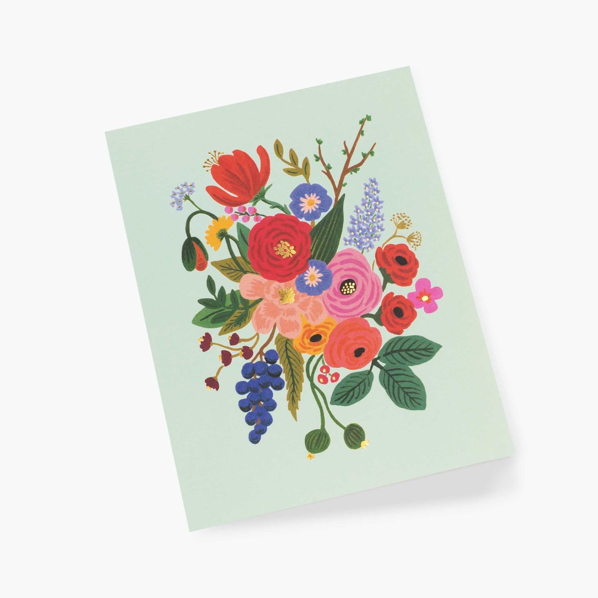 Garden Party Everyday Card in Mint