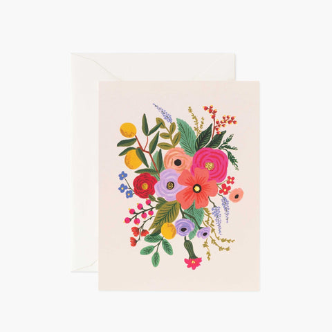 Garden Party Everyday Card in Blush