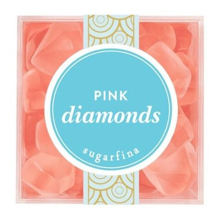 Pink Diamonds Candy Cube