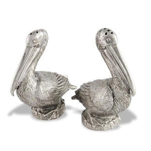 Pelicans Salt + Pepper Shaker Set