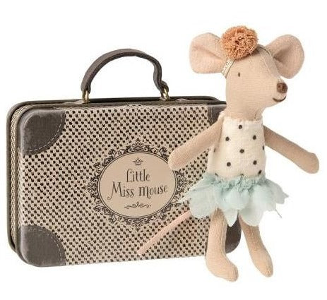 Little Sister Little Miss Mouse in Suitcase