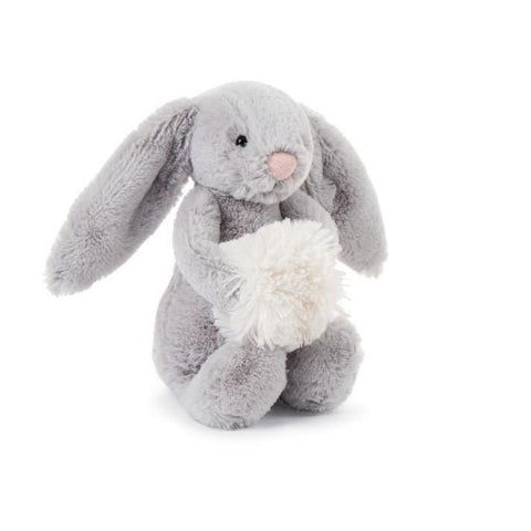 Bashful Snow Bunny in Grey