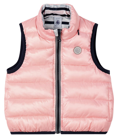 Lazur Quilted Vest in Navy