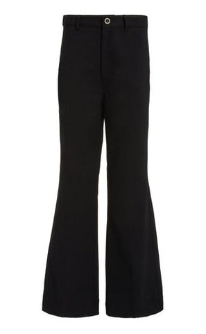Marianne Flared Pants in Black