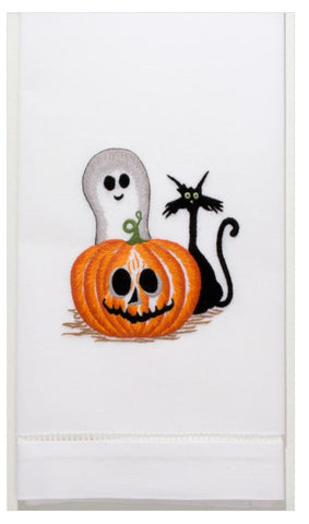 Embroidered Halloween Friends Everyday Towel