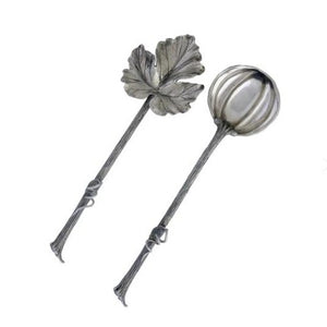Autumn Vine Salad Server Set