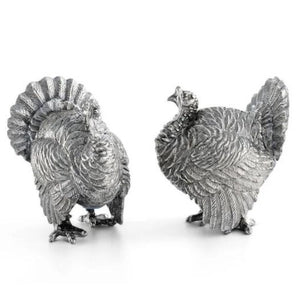 Turkey Salt + Pepper Shaker Set