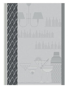 Ambiance Tea Towel in Silver