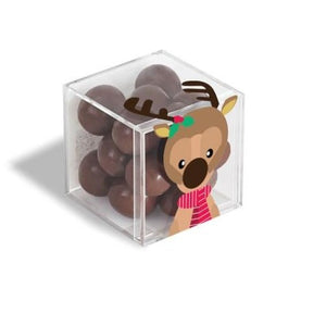 Reindeer Sparkle Pops Candy Cube
