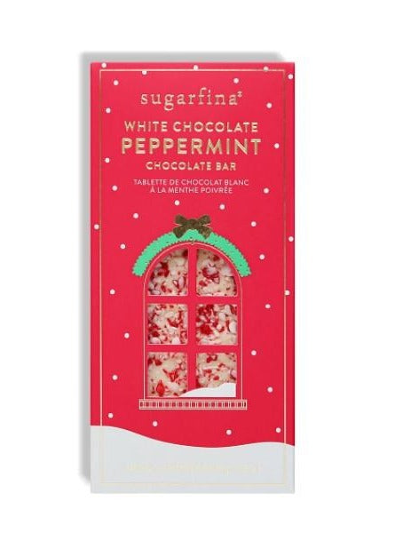 White Chocolate Peppermint Bar