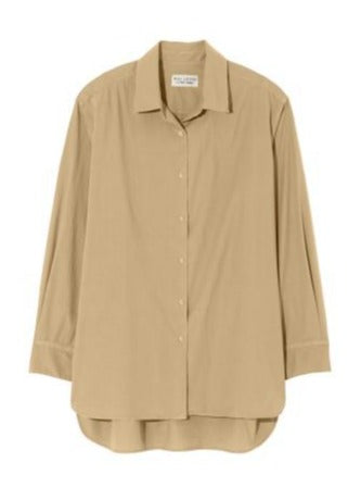 Yorke Long Sleeved Shirt in Khaki