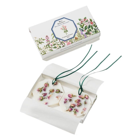 Box of Two Damask Rose Botanical Wax Palets
