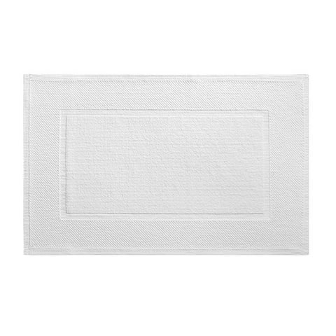 Eden White Bath Mat