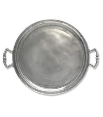 Medium Round Tray with Handles