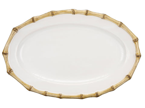 Classic Bamboo Oval Platter