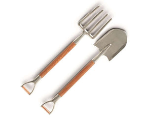 Pitch Fork + Shovel Salad Servers