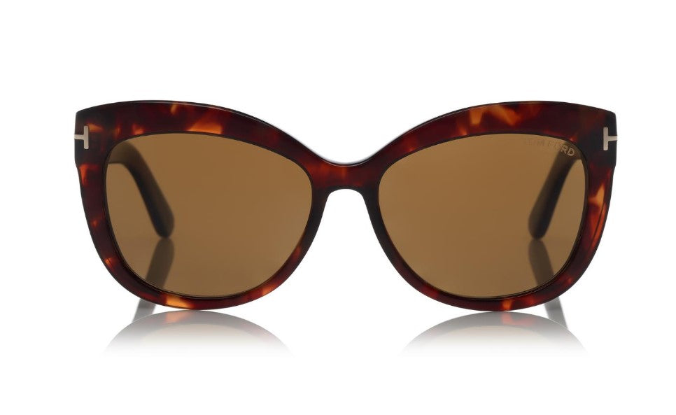 Alistair Square Cat Eye Acetate Sunglasses