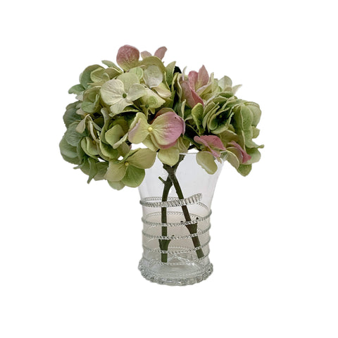 Annabelle Clear Glass Medium Vase
