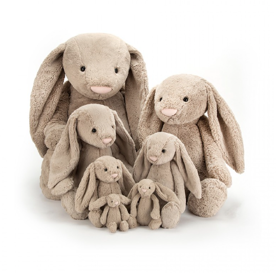 Bashful Bunny in Beige