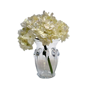 Crumpet Clear Glass Petit Vase