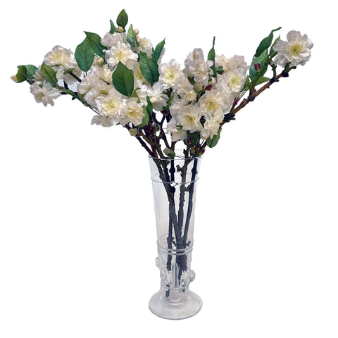 Emily Clear Glass Pillar Vase