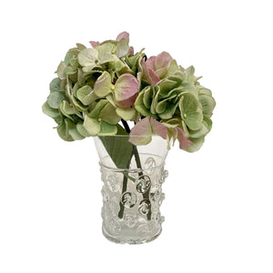 Fiona Clear Glass Medium Vase