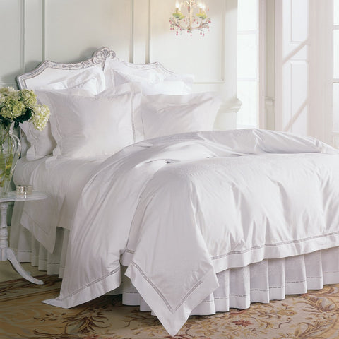 Francesca White Pillowcase Pair