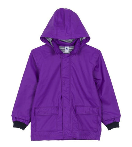 Foto Hooded Rain Jacket in Purple