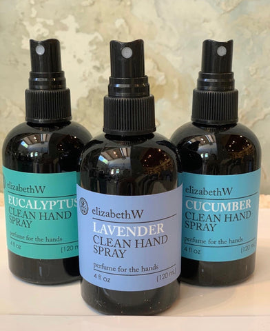 Eucalyptus Scented Clean Hand Spray