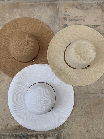 Jemima Hat in Beige