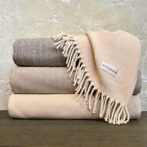 Celine Throw in Taupe