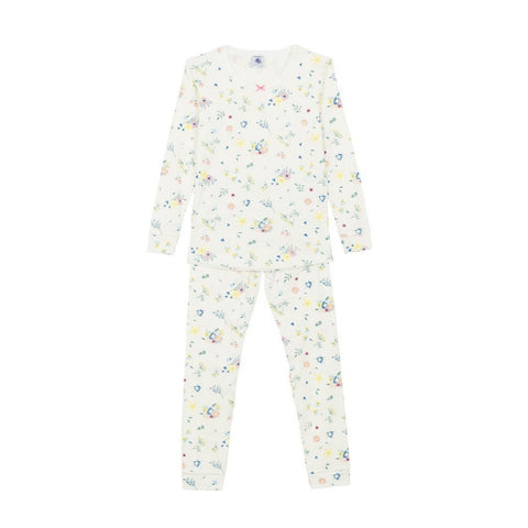 Fiva Long Sleeved Top + Pants Loungewear in Multi Floral
