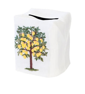 Lemon Tree Tissue Box Cover