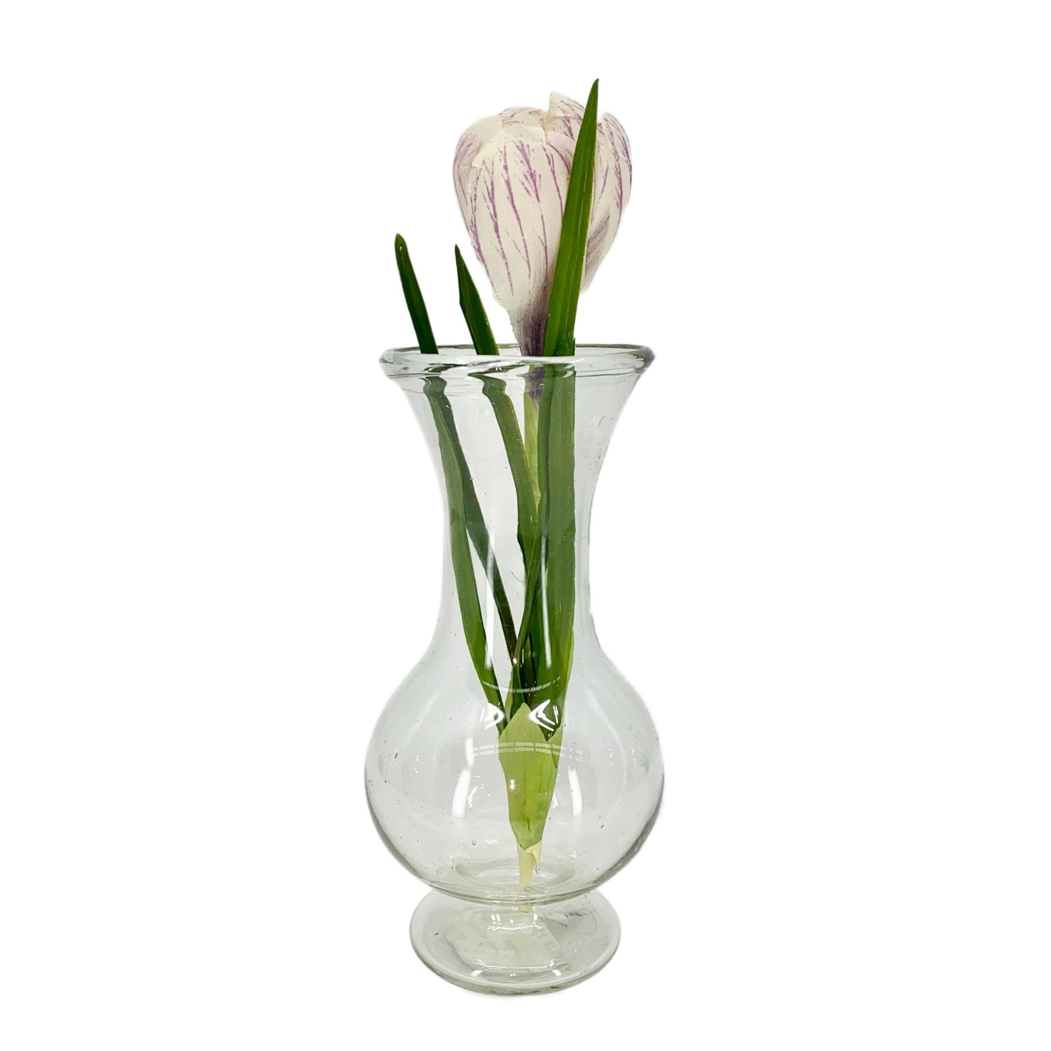 Silhouette Vase in Clear Glass