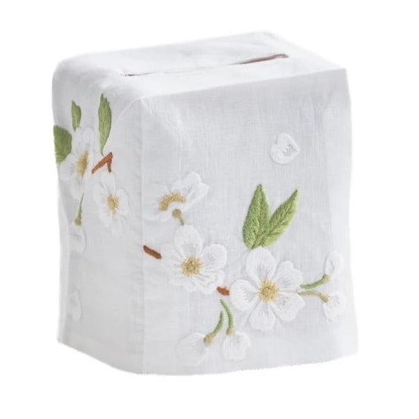 Dogwood Tissue Box Cover