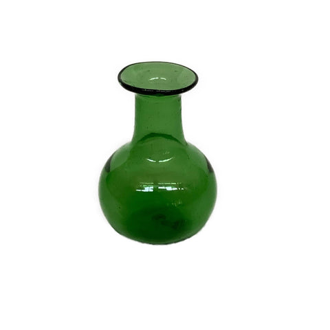 Piccola Vase in Green Glass