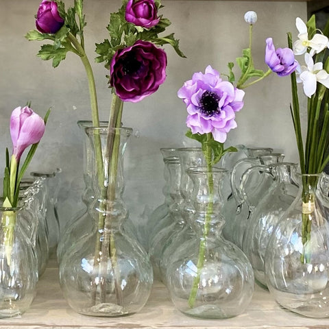 Laveno Grande Vase in Clear Glass