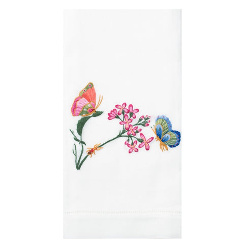 Embroidered Butterfly Everyday Towel