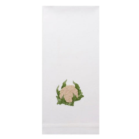 Embroidered Cauliflower Everyday Towel