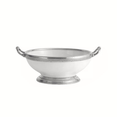Tuscan Medium Footed Bowl with Handles