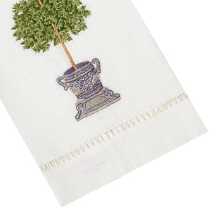 Roman Tree Tip Towel
