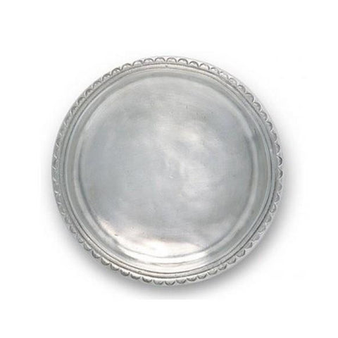 Scallop Rim Bottle Coaster
