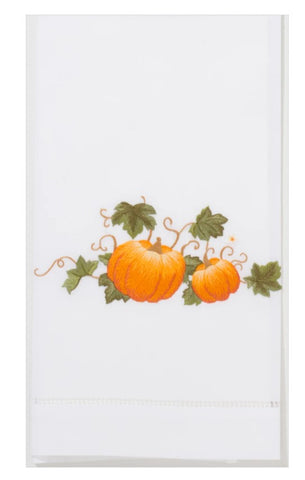 Embroidered Pumpkins Grande Everyday Towel