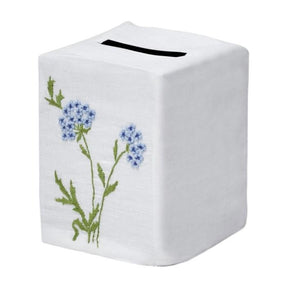 Muriel Tissue Box Cover in Blue