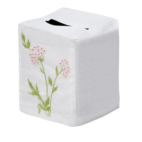Muriel Tissue Box Cover in Pink