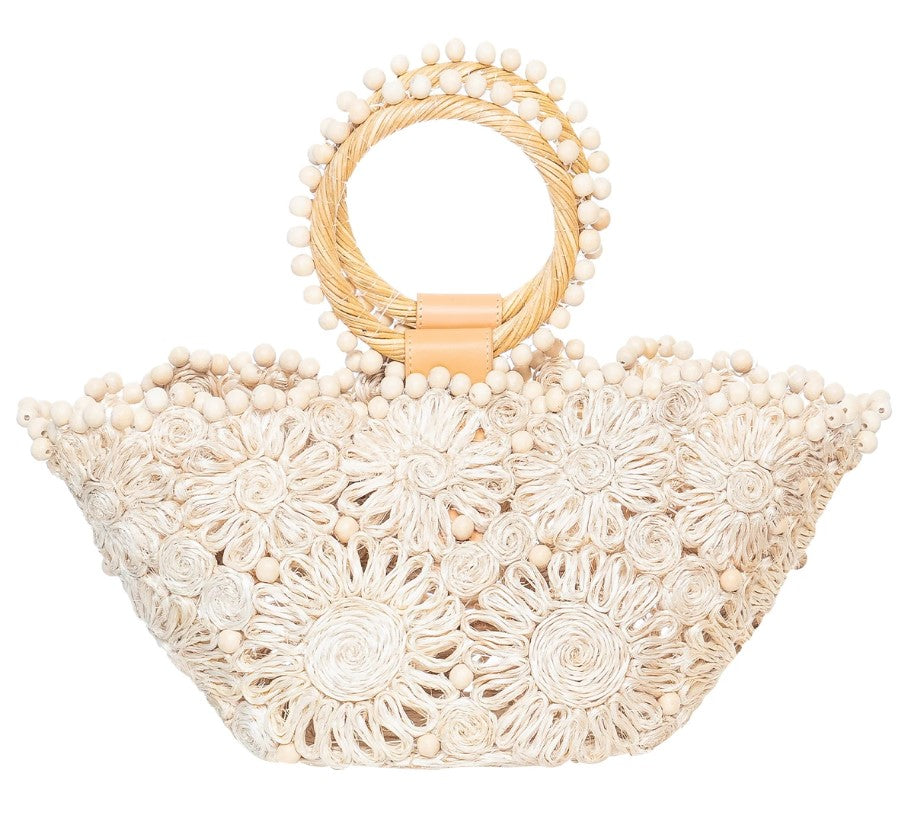 Seaflower Mini Bag in Natural