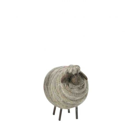 Small Handmade Woolen Sheep