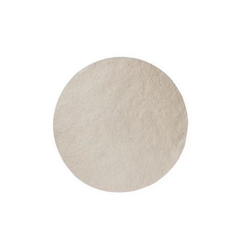 Medium Ivory Round Dome Food Cover Set