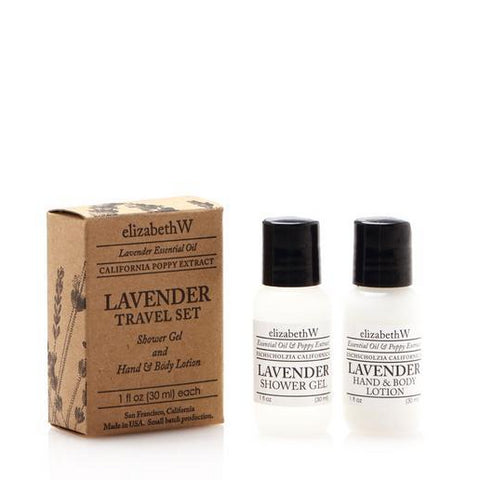 Lavender Weekend Travel Set