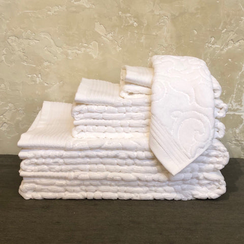 Park Avenue White Towels